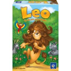 Leo în drum spre frizer