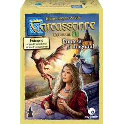 Carcassonne: Prințesa și dragonul (extensia 3)