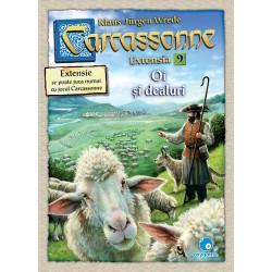 Carcassonne: Oi și dealuri (extensia 9)