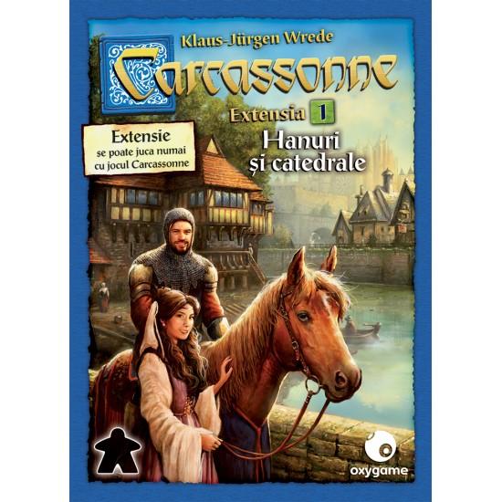 Carcassonne: Hanuri și catedrale (extensia 1)