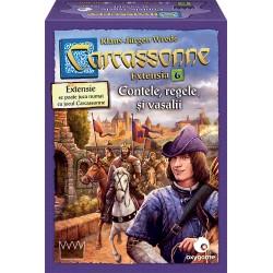 Carcassonne: Contele, regele și vasalii (extensia 6)