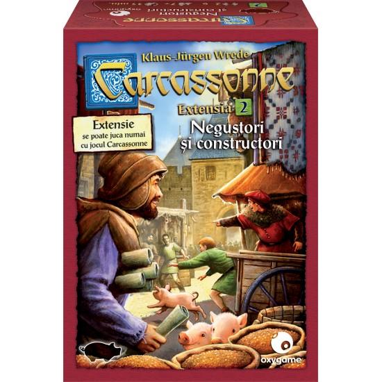 Carcassonne: Negustori și constructori (extensia 2)