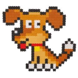 Puzzle Jixelz: Câine, 350 piese