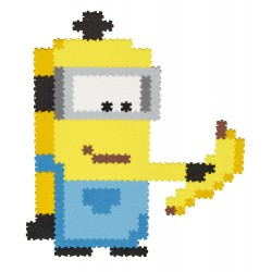 Puzzle Jixelz: Minions, 700 piese