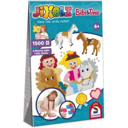 Puzzle Jixelz: Bibi & Tina, 1500 piese
