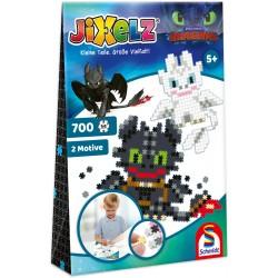 Puzzle Jixelz: Dragoni, 700 piese