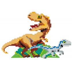 Puzzle Jixelz: Jurassic World, 1500 piese