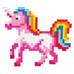 Puzzle Jixelz: Prințesă și unicorn, 700 piese