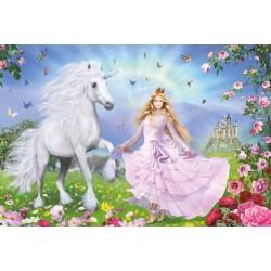Puzzle Schmidt: Prințesa unicornilor, 100 piese