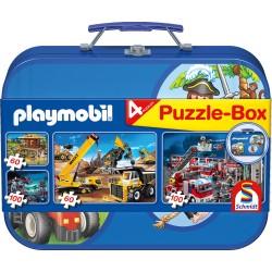 Puzzle Schmidt: playmobil - Playmobil box, 60 piese