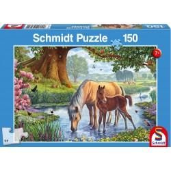 Puzzle Schmidt: Cai la pârâu, 150 piese