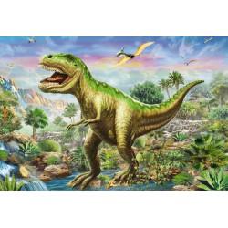 Puzzle Schmidt: Aventurile dinozaurilor, 48 piese
