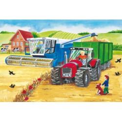 Puzzle Schmidt: La fermă, 24 piese