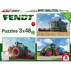 Puzzle Schmidt: Fendt - Fendt, 48 piese