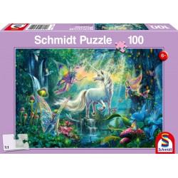Puzzle Schmidt: Tărâmul mitic, 100 piese