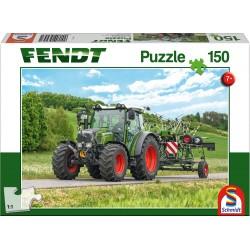 Puzzle Schmidt: Fendt - Fendt 1050 Vario cu Cultivator Amazone Cenius, 150 piese