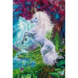 Puzzle Schmidt: Unicorn în Gădina Fermecată, 60 piese