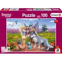 Puzzle Schmidt: Bayala - Țara elfilor și a dragonilor, 100 piese