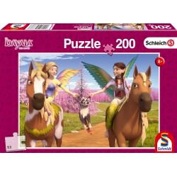 Puzzle Schmidt: Bayala - În drum spre Munțele Dragonului, 200 piese