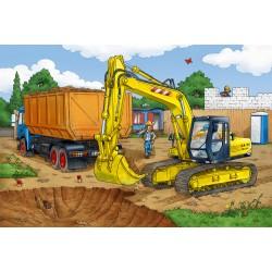 Puzzle Schmidt: Excavator, 40 piese