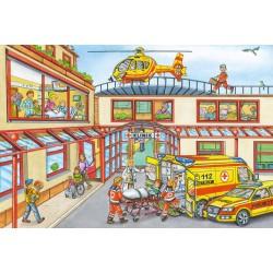 Puzzle Schmidt: Elicopter de salvare, 100 piese
