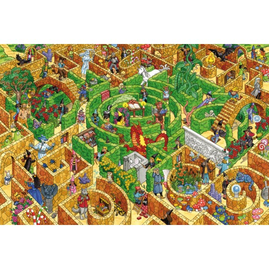 Puzzle Schmidt: Labirint, 150 piese