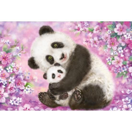 Puzzle Schmidt: Panda, leneș și lama, 24 piese