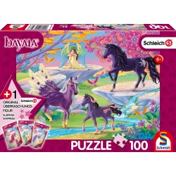 Puzzle Schmidt: Bayala - Poiana unicornilor, 100 piese