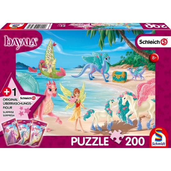 Puzzle Schmidt: Bayala - Insula dragonului, 200 piese