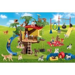 Puzzle Schmidt: Schleich - Farm World: Prieteni fericiți, 40 piese