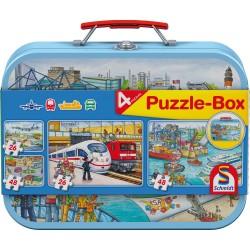 Puzzle Schmidt: Mijloace de transport, 26 piese