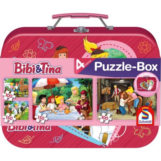 Puzzle Schmidt: Bibi & Tina - Bibi & Tina, 100 piese