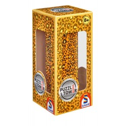 Puzzle Tower: Imprimeu ghepard, 10 piese