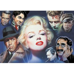 Puzzle Schmidt: Renato Casaro - Marilyn Monroe și prietenii, 1000 piese