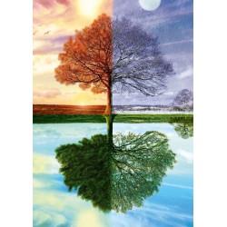 Puzzle Schmidt: Copacul anotimpurilor, 500 piese