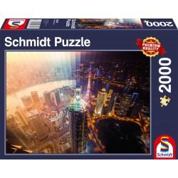 Puzzle Schmidt: De la zi la noapte, 2000 piese
