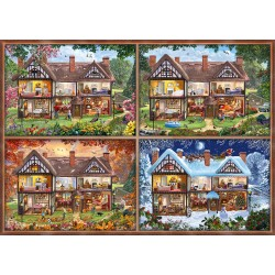 Puzzle Schmidt: Cele patru sezoane, 2000 piese