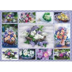 Puzzle Schmidt: Buchet de flori, 500 piese