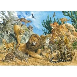 Puzzle Schmidt: Feline mari, 500 piese