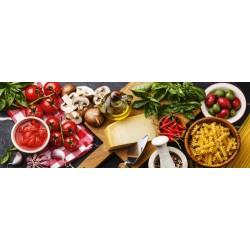 Puzzle Schmidt: Bucătăria italiană, Panoramă, 1000 piese