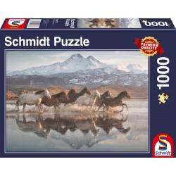 Puzzle Schmidt: Caii în Cappadocia, 1000 piese