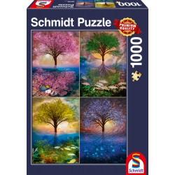 Puzzle Schmidt: Arbore magic lângă lac, 1000 piese