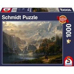 Puzzle Schmidt: Cascada idilă, 1000 piese