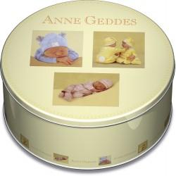 Puzzle Schmidt: Anne Gedes - Colecție Anne Geddes în cutie rotundă, 1000 piese