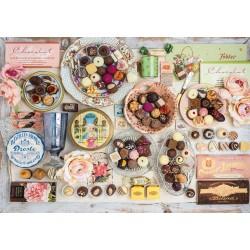 Puzzle Schmidt: Ciocolate nostalgice, 1500 piese