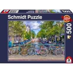 Puzzle Schmidt: Amsterdam, 500 piese