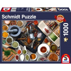 Puzzle Schmidt: Condimente, 1000 piese