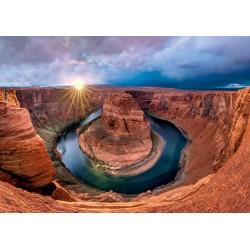 Puzzle Schmidt: Glen Canyon, Horseshoe Bend pe râul Colorado, 1000 piese