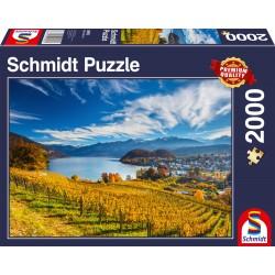 Puzzle Schmidt: Podgorii, 2000 piese