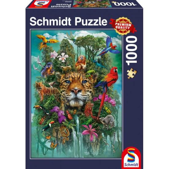 Puzzle Schmidt: Regele junglei, 1000 piese